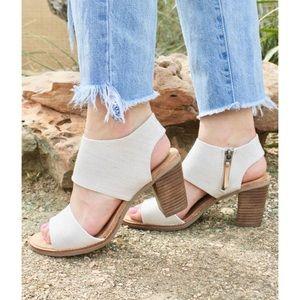 Toms Majorca Cutout Block Heel Sandals